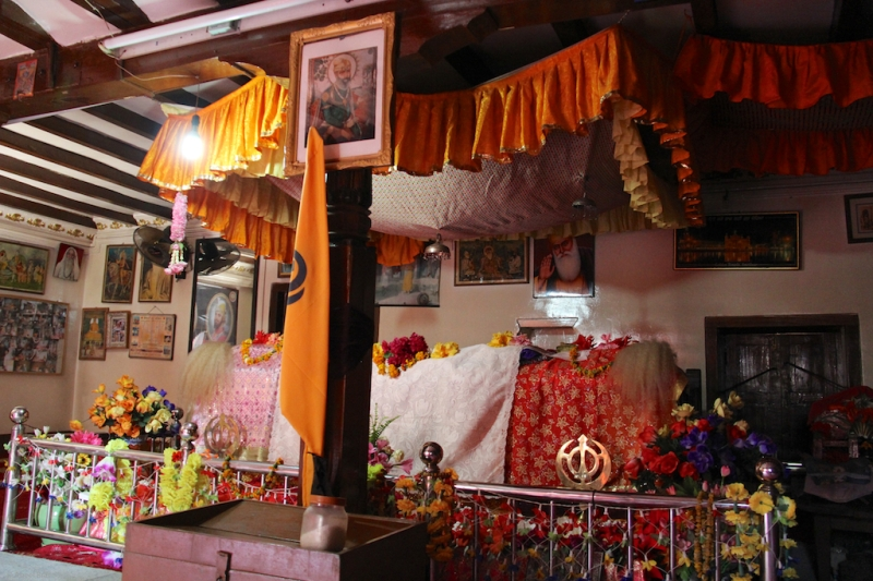 The Guru Granth Sahib at the Guru Nanak Muth